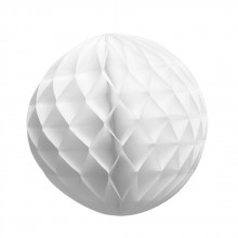 Honeycomb Hvid 25 cm