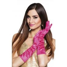 Lange Handsker Lyserøde