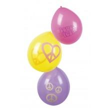 Balloner Hippie 6-Pak