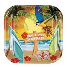 Tallerkener Hawaii Strand 6-pak