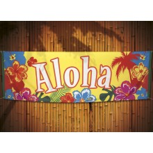 Banner Aloha 74x220 cm