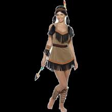 Indianerkostume (Kvinde)