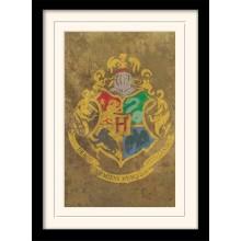 Harry Potter Indrammet Poster Hogwarts Crest