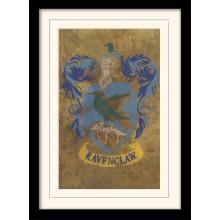 Harry Potter Indrammet Poster Ravenclaw Crest