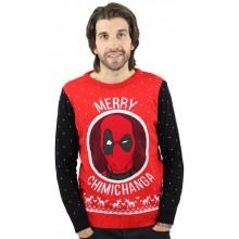 Deadpool Juletrøje Merry Chimichanga