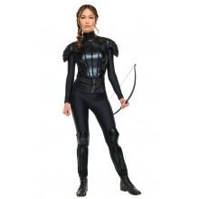 "Katniss The Hunger Games ""Rebell"" Maskeraddräkt Deluxe"