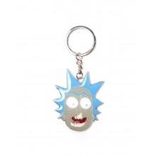 Rick & Morty Nøglering Rick Face