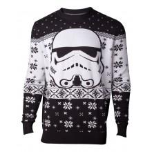 Juletrøje Star Wars Stormtrooper Head