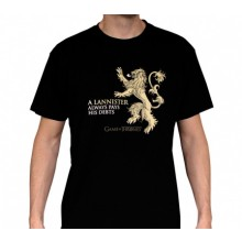 GoT Lannister T-shirt Sort