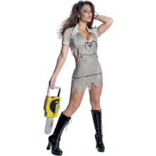 MISS LEATHERFACE KOSTUME
