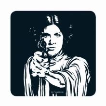 Star Wars Prinsesse Leia Bordskåner