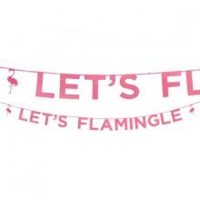 Guirlande Flamingo Let's Flamingle 3 m