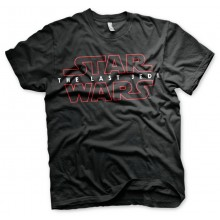 Star Wars The Last Jedi Logo Sort T-shirt