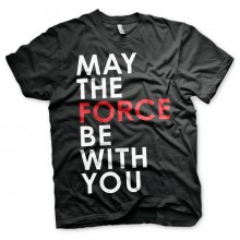 Star Wars The Last Jedi May The Force T-shirt