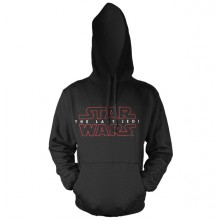 Star Wars The Last Jedi Logo Sort Hoodie