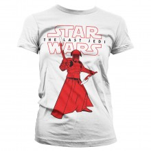 Star Wars The Last Jedi Praetorian Guard Dame T-shirt