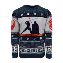 Juletrøje Star Wars Luke Vs Darth