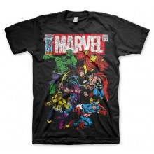 MARVEL COMICS - TEAM-UP T-SHIRT (SORT)