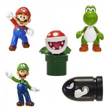 Nintendo Minifigurer 5-Pak Wave 1