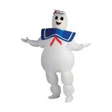 Uppblåsbar Maskeraddräkt Marshmallow-man Ghostbuster