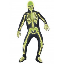 Gothic Manor Graveyard Bones - Selvlysende skelet