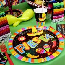 Tallerkner Mexico Fiesta 8-Pak