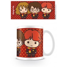 Harry Potter Krus Kawaii Harry, Ron & Hermione