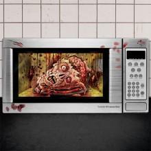 Dekoration Blod Microwave