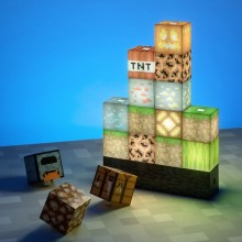 Minecraft Block Building Lampa