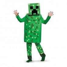 Minecraft Creeper Børnekostume Deluxe