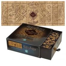 Harry Potter Puslespil Marauders Map 1000 Brikker