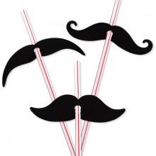 SugerØR Moustache 12-Pak