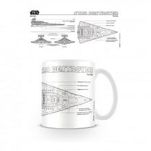 Star Wars Krus Star Destroyer Tegning