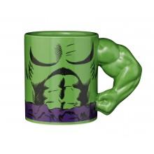 Marvel Mugg Med 3D-Arm Hulken