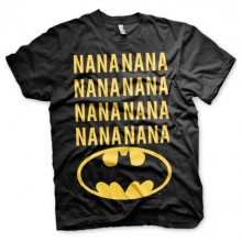 NANA BATMAN T-SHIRT (SORT)