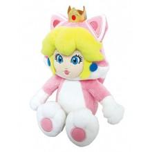 Nintendo - Cat Peach TØJdyr 25 Cm