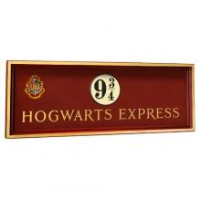 Harry Potter Skilt Platform 9 3/4