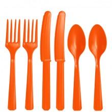 Bestik Orange 24-Pak