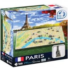 Bypuslespil 4D Mini Paris