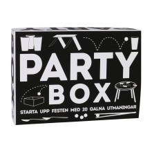 Party Box 20 Utmaningar Spel