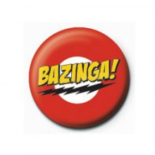 The Big Bang Theory Bazinga Badge
