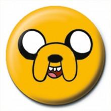 Adventure Time Badge Jake
