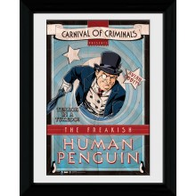 Batman Indrammet Plakat Carnival of Criminals
