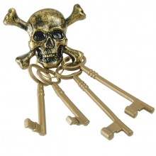 NØGlering Pirat DØDningehoved