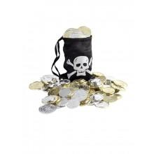 Pose Med Mønter Pirat