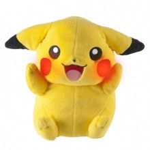 Pokémon Pikachu Bamse Med Effekter 20 cm
