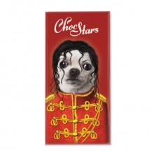 Chokolade Choc Stars Pop 100g