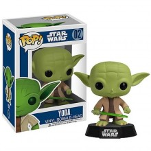 Toy - Star Wars - POP! Vinyl Bobble Figure - Yoda - Series 1 (Star Wars)