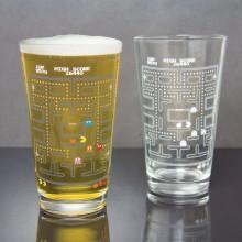 Pac-Man Farveskiftende Glas