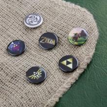 Zelda Badge 6-Pak